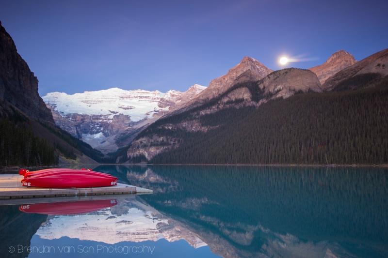 Lake Louise, Sunrise