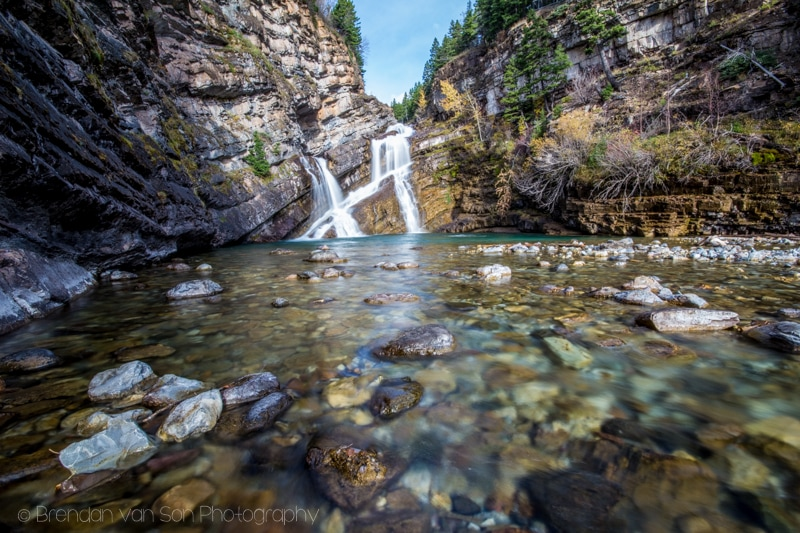 Cameron Falls, Waterton Lakes National Park