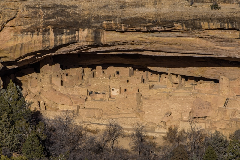Mesa Verde National Park Cliff Dwellings