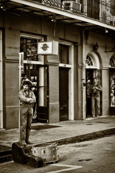 Cowboy, New Orleans