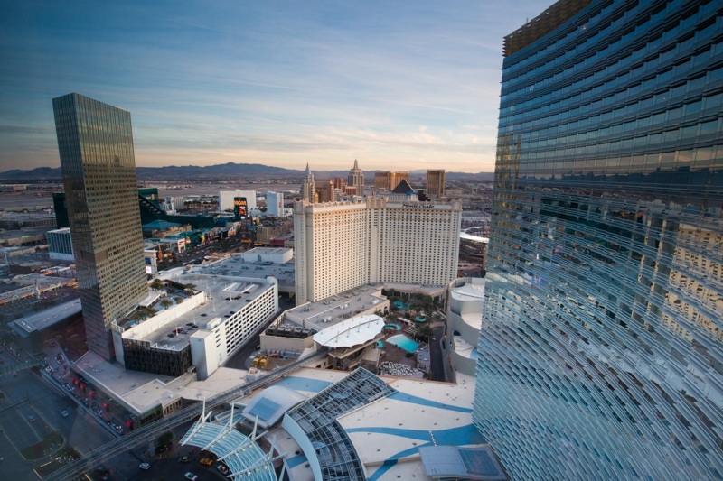 Aria Las Vegas, View