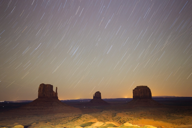 Monument Valley Star Photography