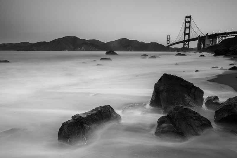 Golden Gate Bridge, Mackenzie Beach