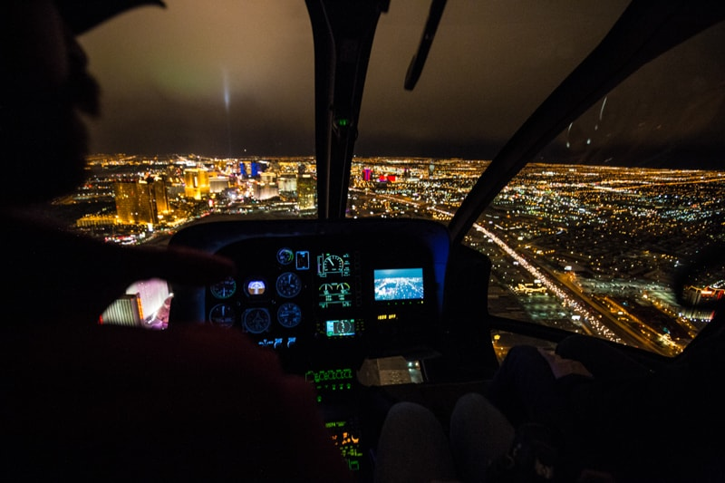 Las Vegas, Helicopter