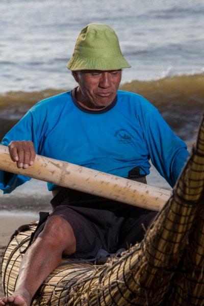 Caballito de totora, Huanchaco