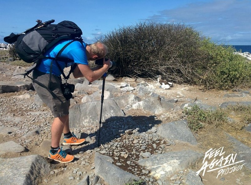 Brendan van Son, Galapagos