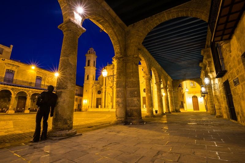 Plaza de la Cathedral, Cuba
