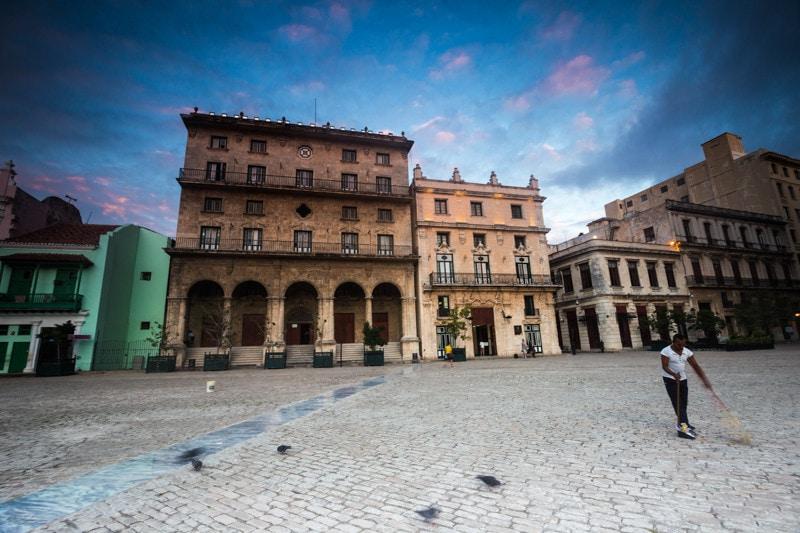 Plaza San Francisco, Havana, Cuba