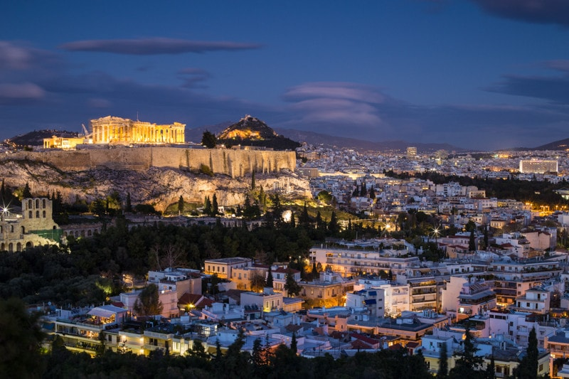 Filopappou Hill, Athens, Greece