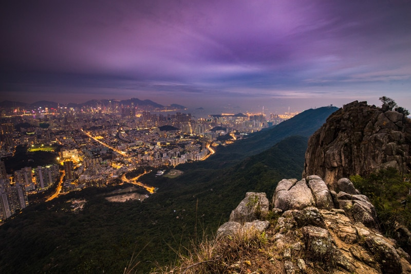 Lion Head Peak, Hong Kong