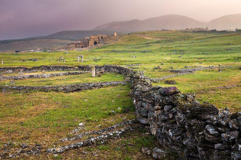 Ruins near pamukkale