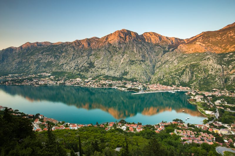 Kotor from Vrmak Fort Trail