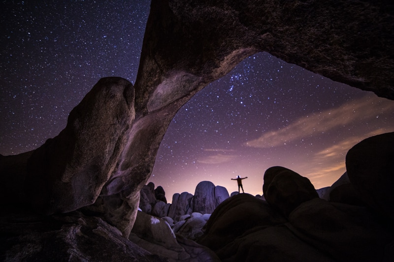 Joshua Tree Star Photography