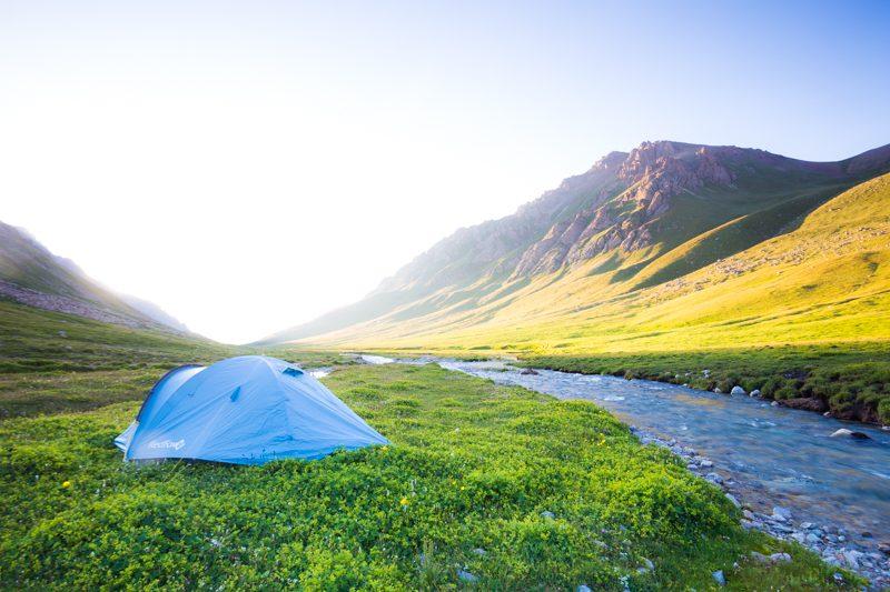 Hiking Kyrgyzstan