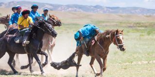 Dead Goat Polo in Kyrgyzstan? Yeah, It's a Real Thing.