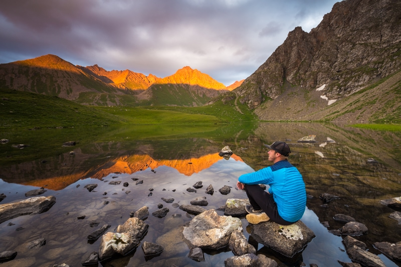 Landscape Kyrgyzstan