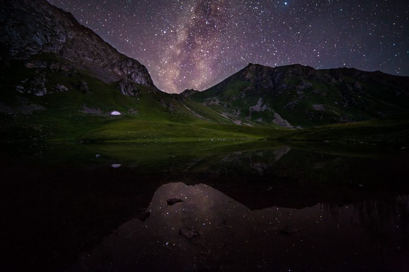 Landscape Kyrgyzstan Star Photography