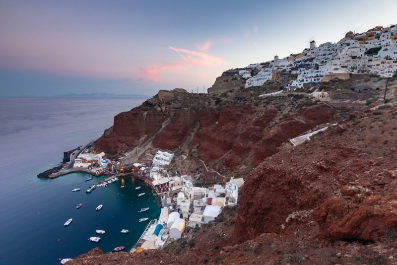 Santorini classic photo