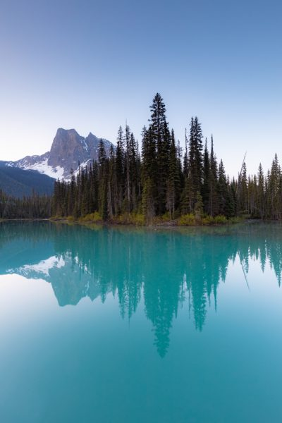 Emerald Lake in the spring