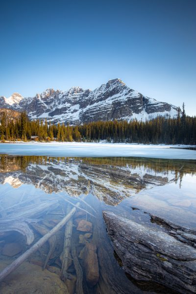 Reflections on Lake O'Hara