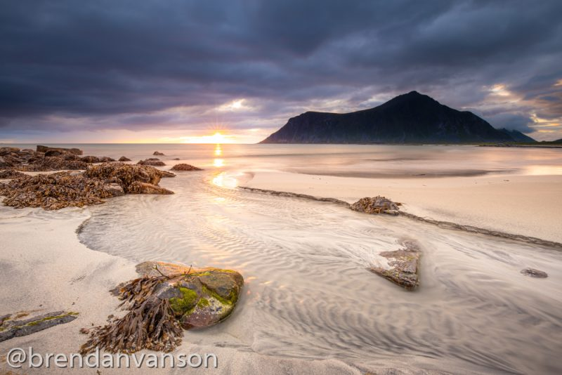 Skagsanden Beach, Norway