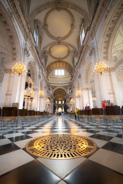St. Paul's Cathedral floor
