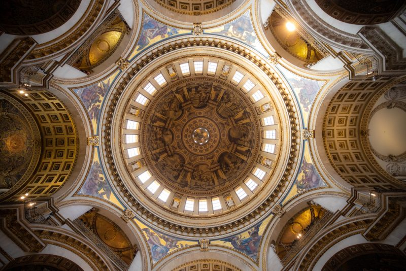 St. Paul's Cathedral roof