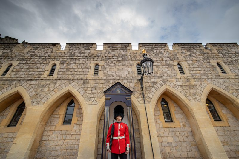 Queen's Guard, Windsor Castle