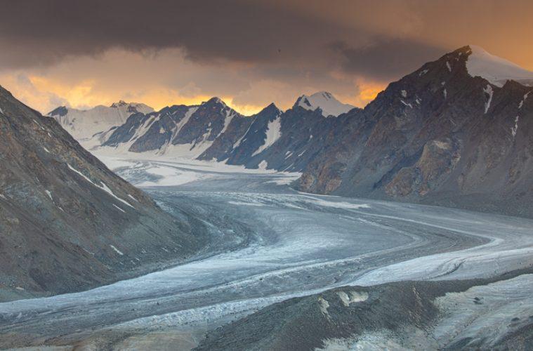 Western Mongolia Glacier