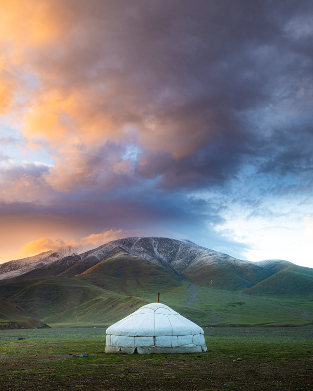 Western Mongolia Ger