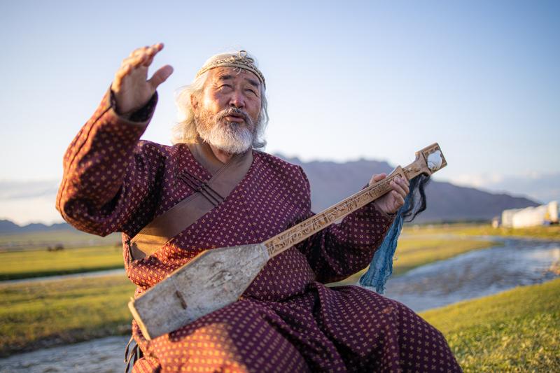 Throat Singer, Mongolia