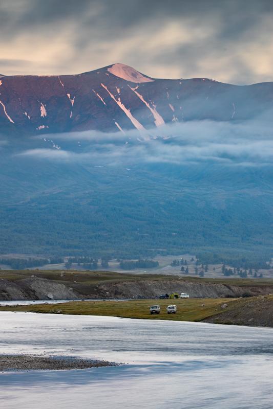 Western Mongolia river